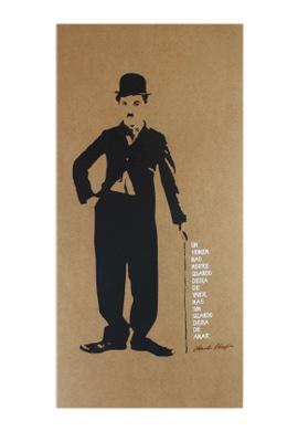 Cartaz Charles Chaplin - Tertúlia Produtos Literários
