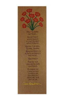 Cartaz Cora Coralina Recria - Tertúlia Produtos Literários