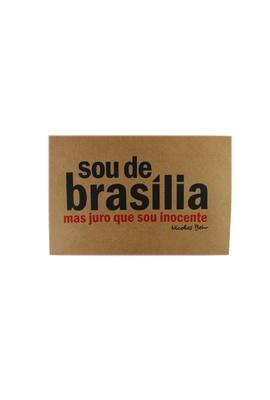 Cartaz Nicolas Behr Brasília - Tertúlia Produtos Literários