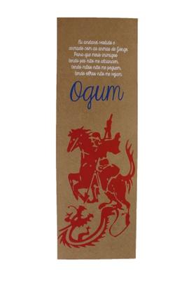Cartaz Ogum - Tertúlia Produtos Literários