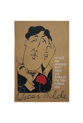 Cartaz Oscar Wilde - Tertúlia Produtos Literários