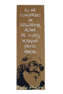 Cartaz Paulo Freire - Tertúlia Produtos Literários