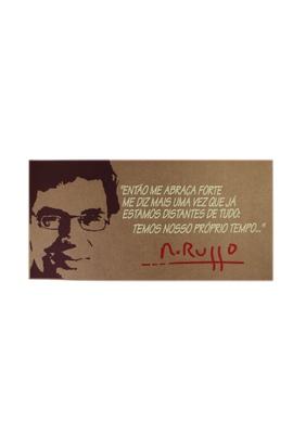 Cartaz Renato Russo - Tertúlia Produtos Literários