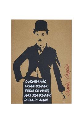 Lâmina Charles Chaplin - Tertúlia Produtos Literários