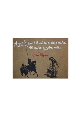Lâmina Dom Quixote Sabedoria - Tertúlia Produtos Literários