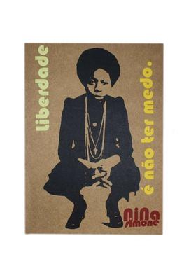Lâmina Nina Simone Liberdade - Tertúlia Produtos Literários