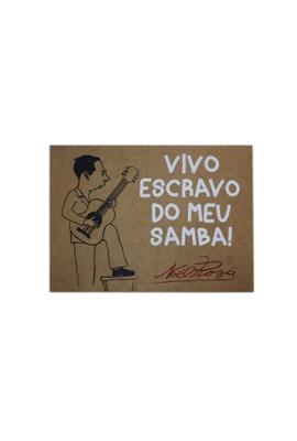 Lâmina Noel Rosa Samba - Tertúlia Produtos Literários