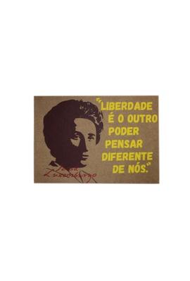 Lâmina Rosa Luxemburgo Liberdade - Tertúlia Produtos Literários