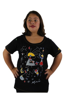 Babylook Miró Preta - Tertúlia Produtos Literários