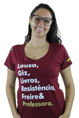 Babylook Freire e Professora Bordô - Tertúlia Produtos Literários