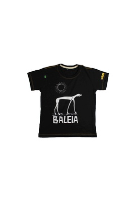 Camiseta Infantil Graciliano Ramos Baleia Preta - Tertúlia Produtos Literários