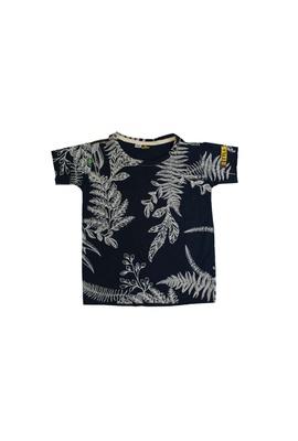 Camiseta Infantil Poesia Floral Marinho - Tertúlia Produtos Literários