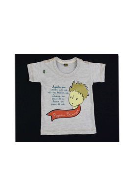 Camiseta Infantil Pequeno Príncipe Gelo - Tertúlia Produtos Literários