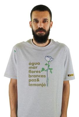 Camiseta Iemanjá Gelo - Tertúlia Produtos Literários
