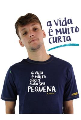 Camiseta Disraeli Marinho - Tertúlia Produtos Literários