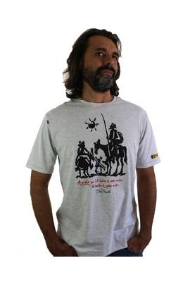 Camiseta Dom Quixote Sabedoria Gelo - Tertúlia Produtos Literários