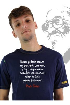 Camiseta Paulo Freire Marinho - Tertúlia Produtos Literários
