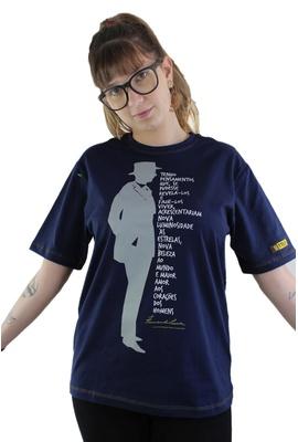 Camiseta Fernando Pessoa Marinho - Tertúlia Produtos Literários
