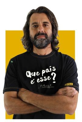 Camiseta Renato Russo - Que país é esse? Preta - Tertúlia Produtos Literários