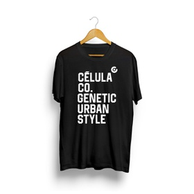 Camiseta Urban - Preto - CÉLULA Company