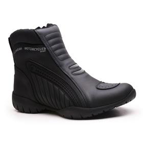 Bota Coturno Motociclista Gogowear 100% Couro ref ... - Loja Gogowear