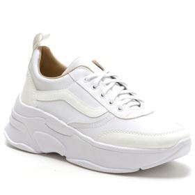 Tênis Feminino Sneaker Chunky Branco - 4000 B - MADOK