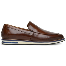 Sapato Casual Mouro Couro Wood - 58854 M CASUAL - MADOK