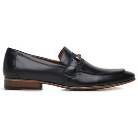 Sapato Social Couro Preto Premium - 58856 P - MADOK