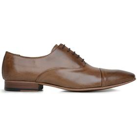 Sapato Social Couro Tan Marrom - 60078 VEG TAN - MADOK