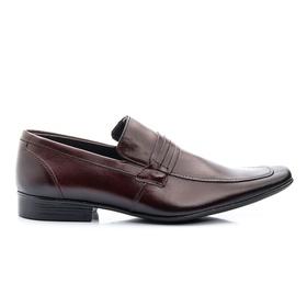 Sapato Social Masculino Marrom em Couro - 359 M - MADOK
