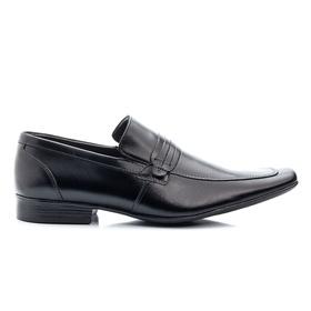 Sapato Social Masculino Preto em Couro - 359 P - MADOK