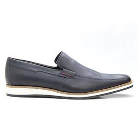 Sapato Casual Marinho Estonado - 525AZ - MADOK