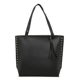 Bolsa Feminina Sacola Bag Preta - B PRETA SM - MADOK