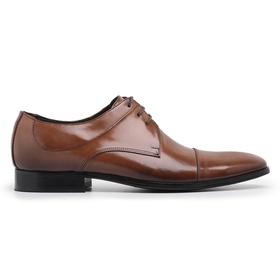 Sapato Social Couro Marrom Premium - 56002 M - MADOK