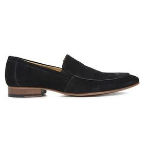 Sapato Social Preto Couro Camurça Premium - 58854 ... - MADOK