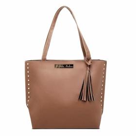 Bolsa Feminina Sacola Bag Caramelo Julia Andara -... - MADOK