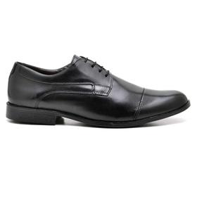 Sapato Social Couro Preto - 16800 PT - MADOK
