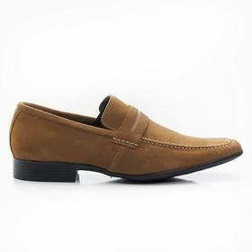 Sapato Mocassim Caramelo em camurça - 462CRM - MADOK