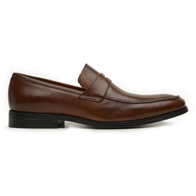 Sapato Social Couro Whisky Confort - 60459 W - MADOK