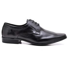 Sapato Social Couro Preto - 9904 PT - MADOK