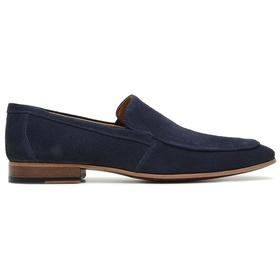 Sapato Social Marinho Camurça Premium - 58854 AZ - MADOK