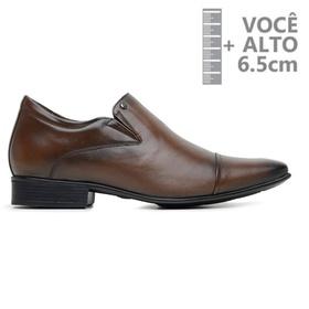 Sapato com Salto Interno Jota Pe Marrom Grow Air D... - MADOK