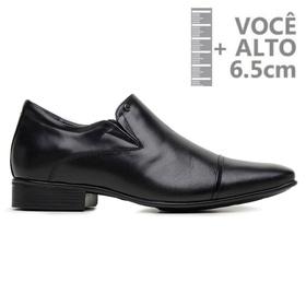 Sapato com Salto Interno Jota Pe Preto Grow Air De... - MADOK
