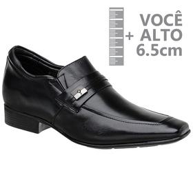 Sapato com Salto Interno Jota Pe Preto Air Bridge ... - MADOK
