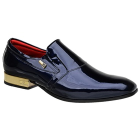 Sapato Social Jota Pe Verniz Purple Blue - 70900 B... - MADOK