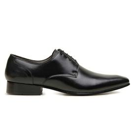 Sapato Social Couro Preto Premium Executive - 322... - MADOK