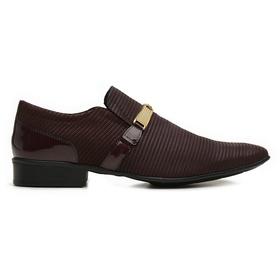 Sapato Social Jota Pe Vinho Air Phoenix - 72383 V... - MADOK