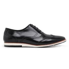Sapato Casual Oxford Preto - 24512 P - MADOK