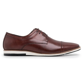 Sapato Casual Derby Café Mouro - 24515 CF M - MADOK