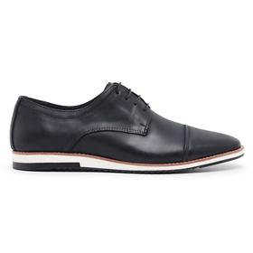 Sapato Casual Derby Preto Noite Nobuck - 24515 N - MADOK